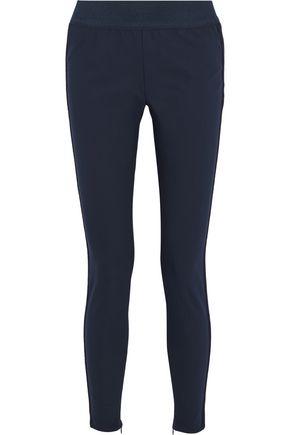 STELLA McCARTNEY Lace-trimmed stretch-knit skinny pants