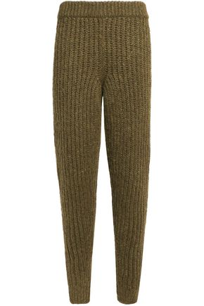 J.W.ANDERSON Ribbed alpaca-blend track pants