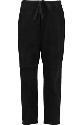 VINCE. Suede track pants