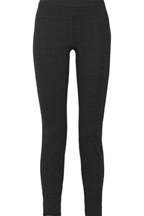 JOIE Keena printed stretch-jersey leggings