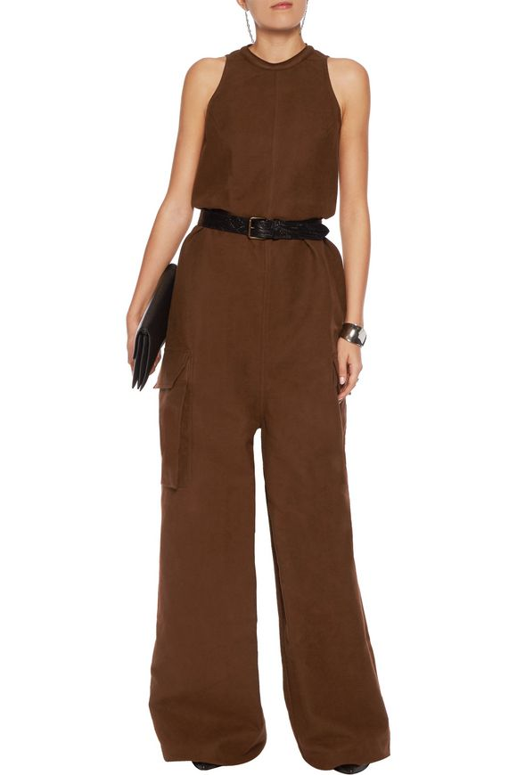 Cotton and silk-blend jumpsuit | RICK OWENS | Sale up to 70% off | THE  OUTNET