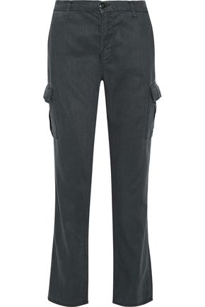 J BRAND Croft twill straight-leg pants