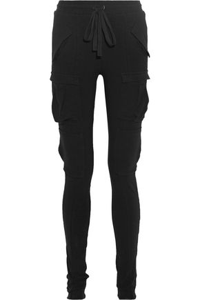 HAIDER ACKERMANN Stretch cotton-blend leggings
