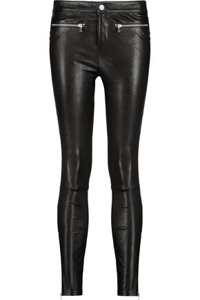 J BRAND Emma stretch-leather skinny-leg pants