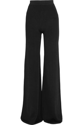 BALMAIN Wide-leg cady pants