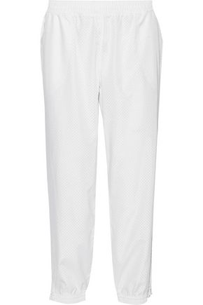 ADIDAS by STELLA McCARTNEY Perforated shell track pants