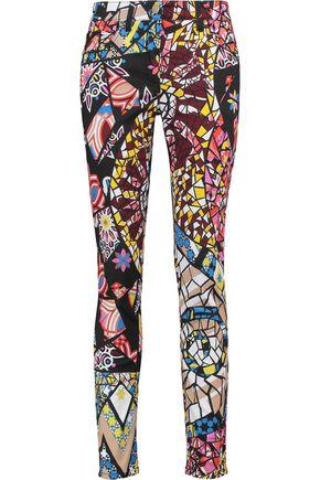 EMILIO PUCCI Printed cotton-blend skinny pants