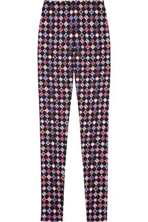EMILIO PUCCI Printed woven skinny pants