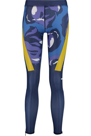 ADIDAS by STELLA McCARTNEY Techfit® printed stretch-jersey leggings