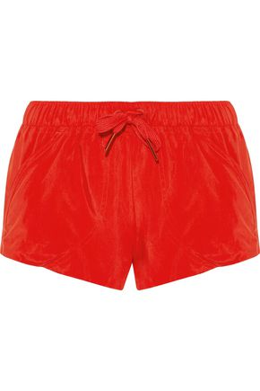 ADIDAS by STELLA McCARTNEY Coated shell shorts