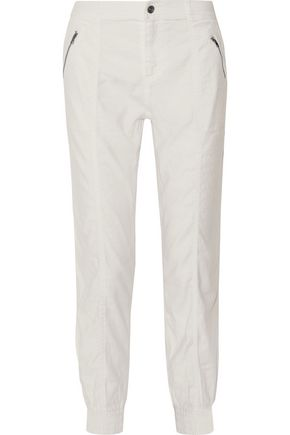 SPLENDID Linen-twill trackpants