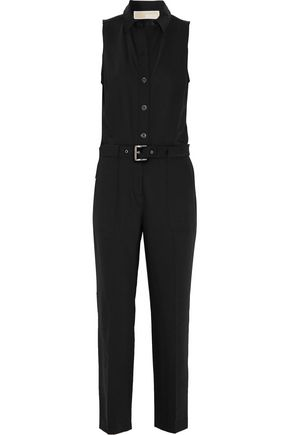 MICHAEL MICHAEL KORS Belted wool-blend jumpsuit