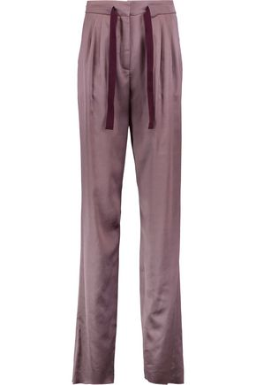 ETRO Satin straight-leg pants