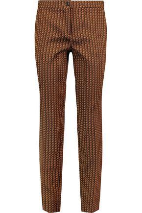 ETRO Jacquard slim-leg pants
