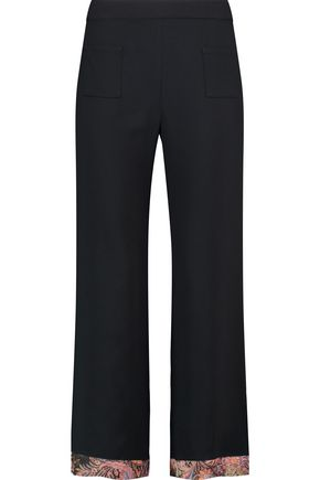 ETRO Crepe wide-leg pants