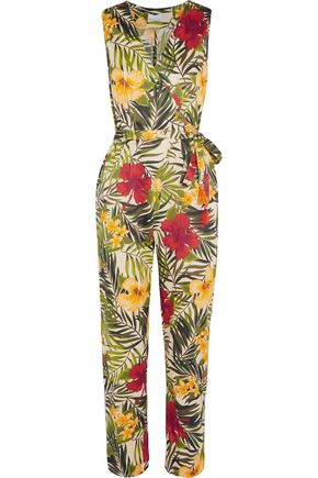 MIGUELINA Alexa printed cotton jumpsuit