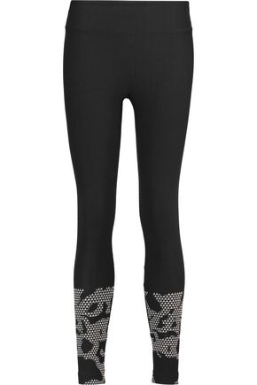 KORAL Gradient paneled stretch leggings