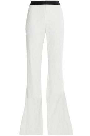 ALEXIS Agata guipure lace flared pants