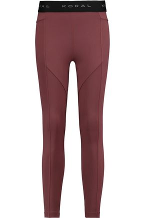 KORAL Sprint stretch-jersey leggings