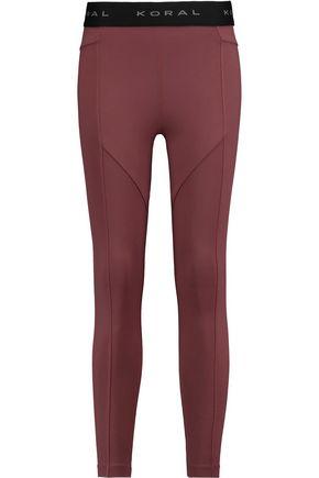 KORAL Sprint stretch-jersey leggings