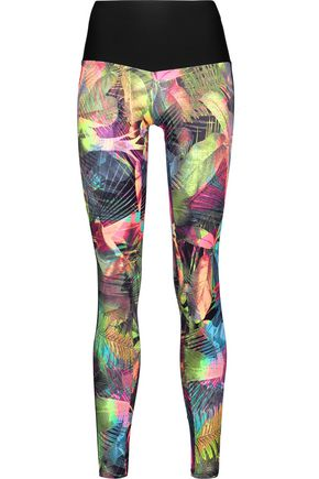 BODYISM I Am Proud printed stretch leggings