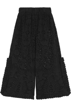 OPENING CEREMONY Nikoletta crochet-knit cotton-blend culottes