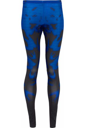 McQ Alexander McQueen Printed stretch leggings