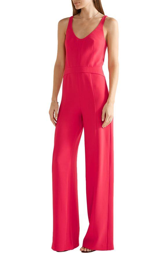 1a3d4161273d Cutout crepe jumpsuit