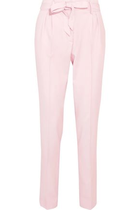 GABRIELA HEARST Bow-detailed wool tapered pants