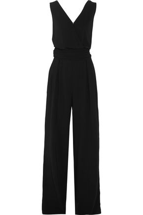 MAISON MARGIELA Belted crepe jumpsuit