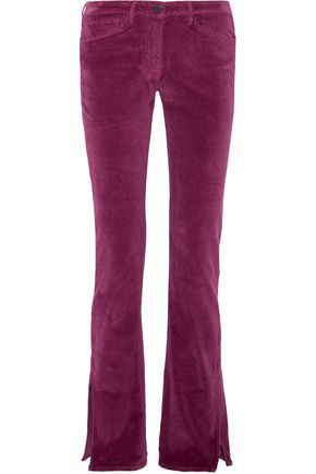 3x1 Cotton-blend flared pants