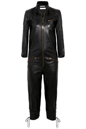 CHLOÉ Leather jumpsuit