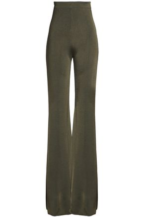 BALMAIN Knitted flared pants