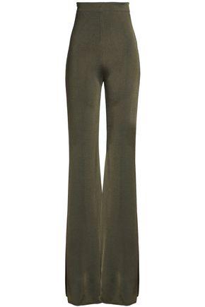 BALMAIN Knitted flared pants