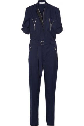 VICTORIA BECKHAM Wool-twill jumpsuit