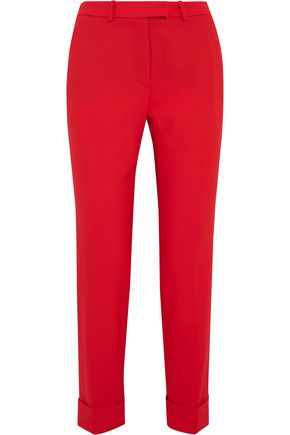 CEFINN Cropped stretch-wool slim-leg pants