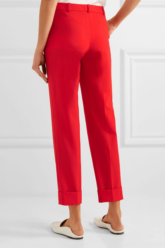 Cropped stretch-wool slim-leg pants | CEFINN | Sale up to 70% off | THE  OUTNET