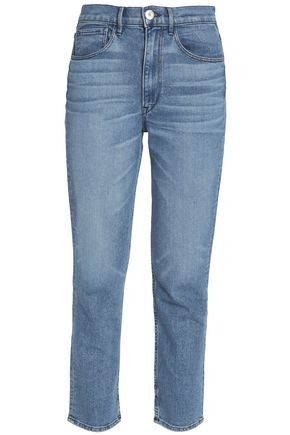 3x1 Mid-rise straight-leg jeans