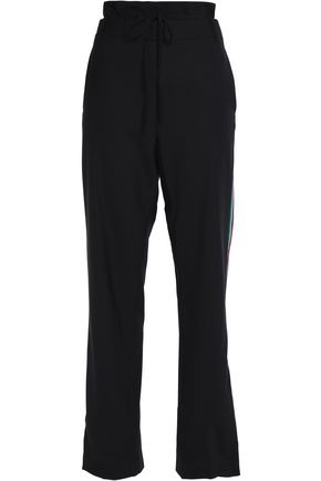 TIBI Cady straight-leg pants