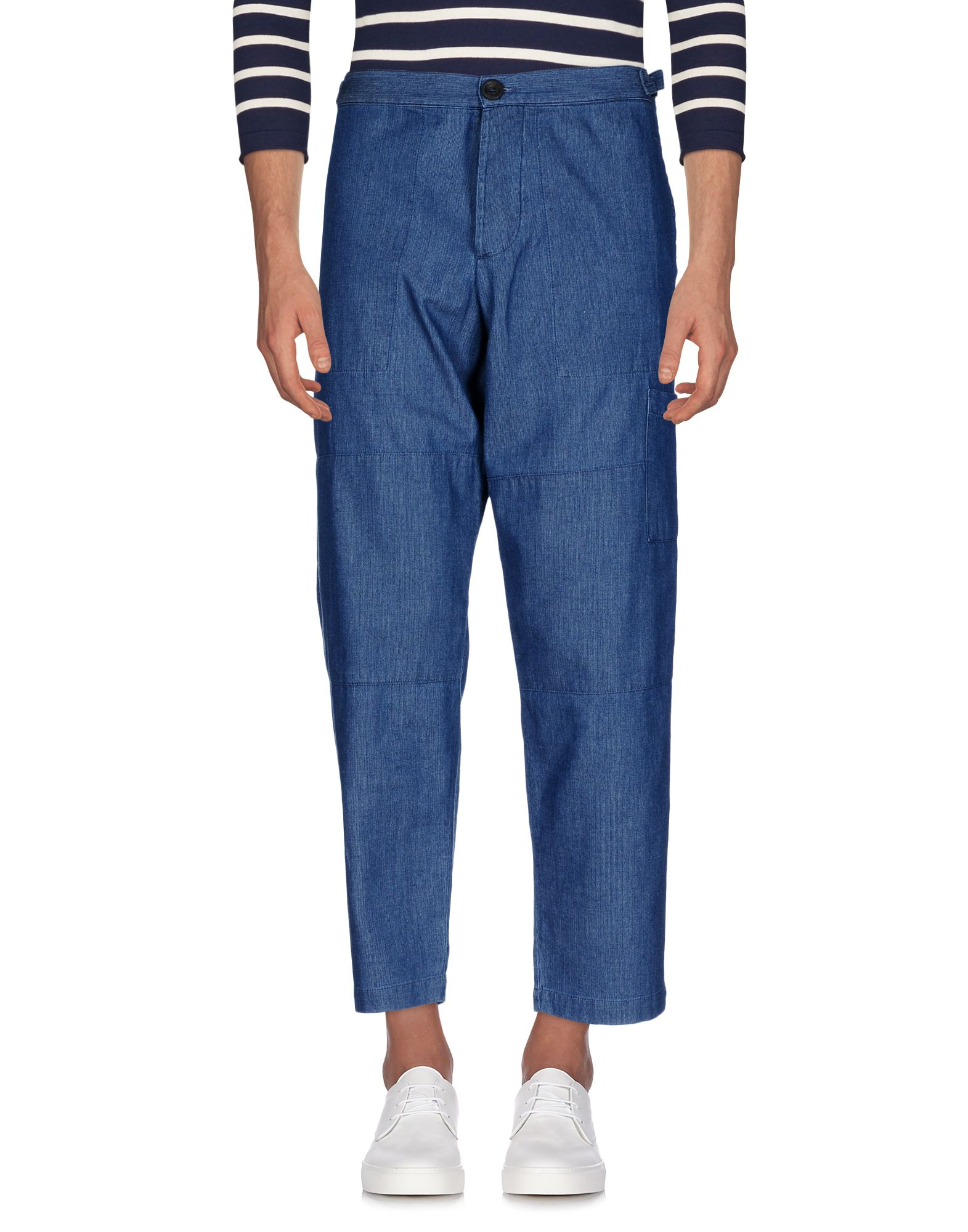 OLIVER SPENCER Джинсовые брюки