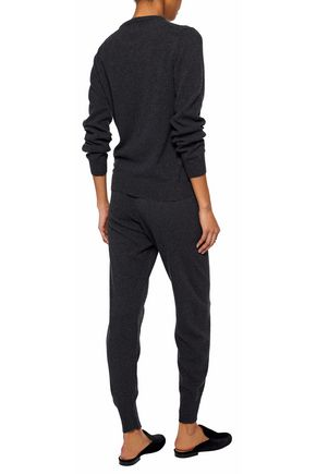 IRIS & INK Albie cashmere and merino wool-blend tapered pants