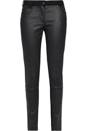 BELSTAFF Layton coated mid-rise skinny jeans