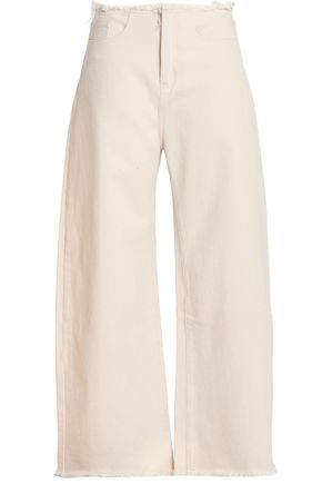 MARQUES ' ALMEIDA High-rise wide-leg jeans