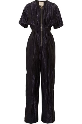 ROKSANDA Open back satin jumpsuit