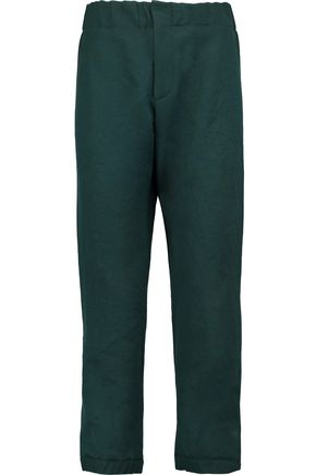 MARNI Cotton and linen-blend tapered pants