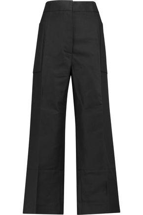 MARNI Cotton and linen-blend straight-leg pants