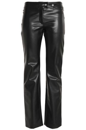 ACNE STUDIOS Faux-leather straight-leg pants