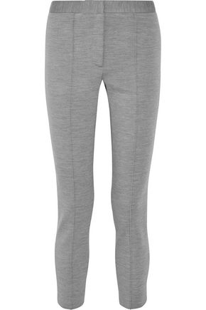 ADAM LIPPES Stretch wool-blend skinny pants