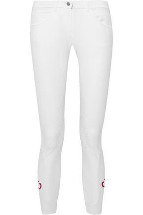 CAVALLERIA TOSCANA Stretch-jersey jodhpurs