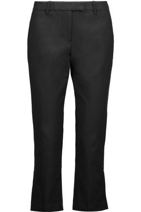 3.1 PHILLIP LIM Cropped cotton-blend crepe slim-leg pants